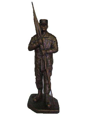 Terrance Patterson Gallery Colorado Springs Military Western Sculptures Statues