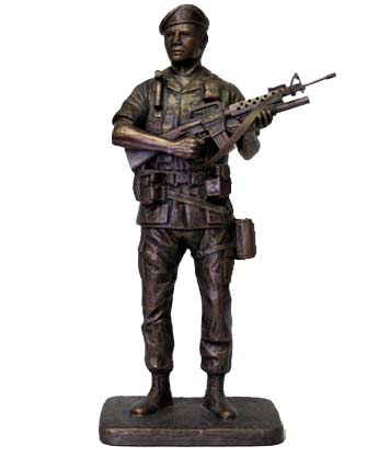 Terrance Patterson Gallery, Military Statues, Sculptures