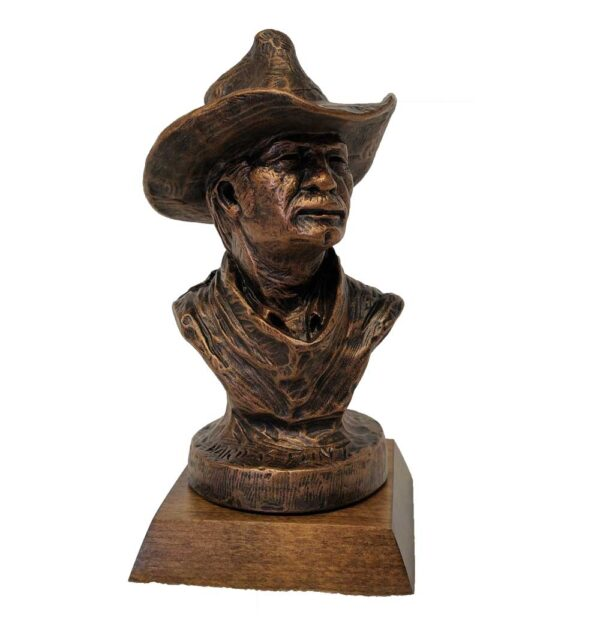 terrance-patterson-western-figures-sculptures-P249-hard-as-flint-cowboy-bust