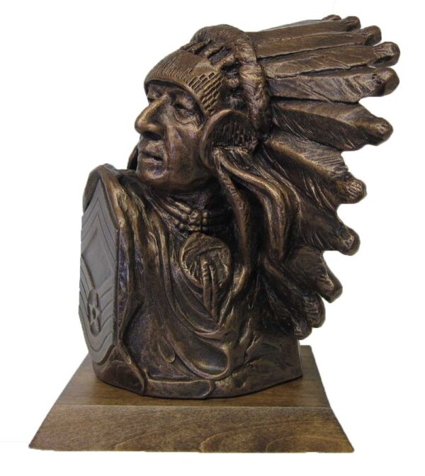 Terrance-Patterson-Gallery-Bust-Statue-Native-American-P268B-Chief-Master-Sgt-Large-Chief-02